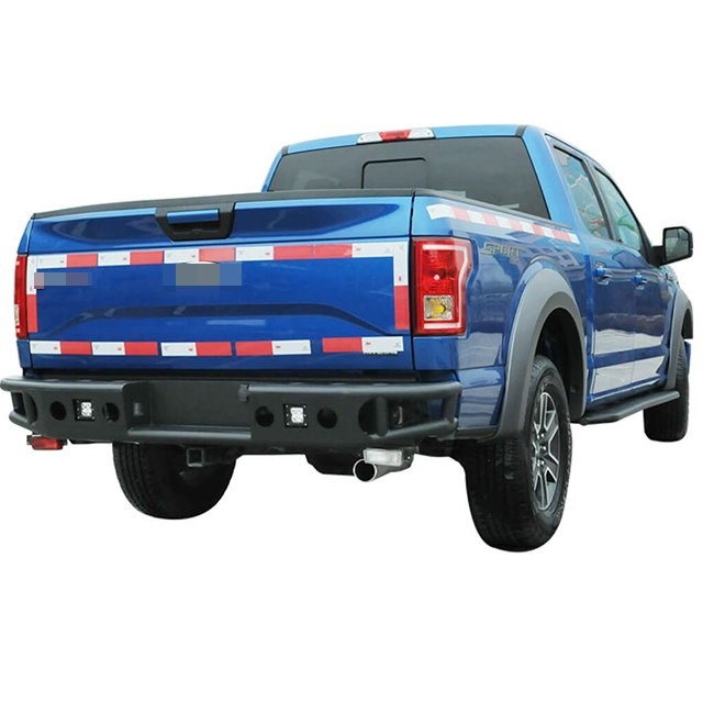 15-16 Tubolar Rear Winch Bumper for Ford F150
