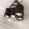 Jeep Jk Wrangler & Ford F150 A-Pillar LED Lights Color: Silver & Black (PAIR) for Jeep Wrangler JK