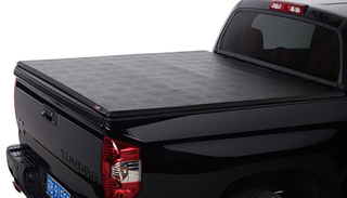 Lock & Roll-Up Tonneau Cover For 2014-2018 Chevy Silverado 5.8' Truck Bed