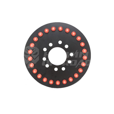 Spare Tire Brake Light (25 Leds) for Jeep Wrangler Jk