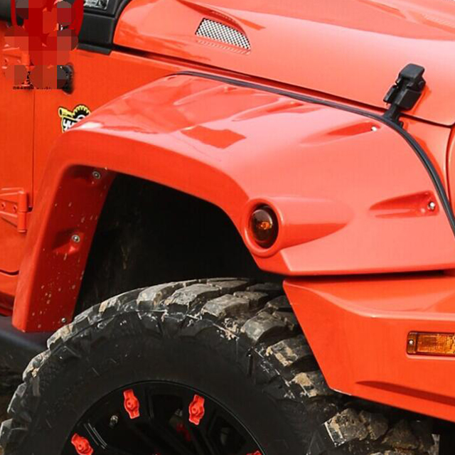 Fender Flares Front and Rear for Jeep Wrangler JK