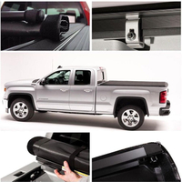05-18 Toyota TACOMA 5ft 6ft Short Bed Lock & Roll Up Truck Tonneau Cover