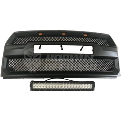 15-17 F150 Grill with Led Ligts