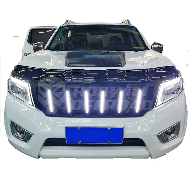 2015 Navara Np300 Grille With Led