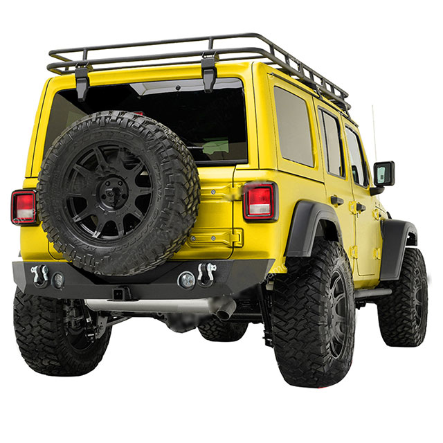 JL Rear Bumper W/Tire Carrier for Jeep Wrangler JL 2018