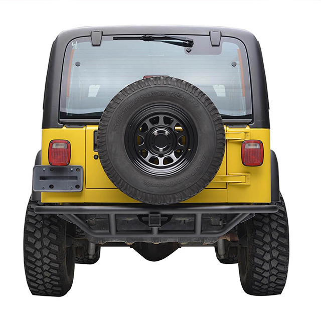 87-06 Jeep Wrangler YJ/TJ Rock Crawler Tubular Rear Bumper for Jeep Wrangler TJ