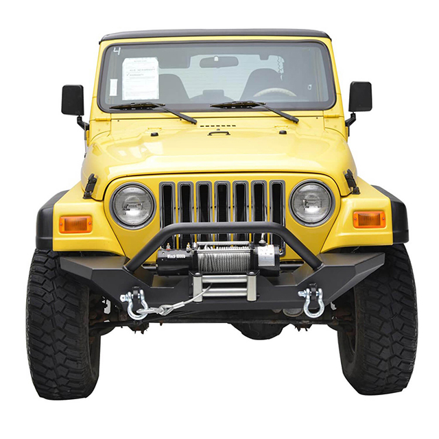 87-06 Jeep Wrangler YJ/TJ Heavy Duty Rock Crawler Front Bumper for Jeep Wrangler TJ