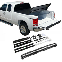 "Tri-fold Soft Tonneau Cover for Dodge Ram 1500 02-18' Short Bed 6.4""5.7"""