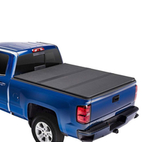 Hard Tri-fold Tonneau Cover for Chevy Silverado/Sierra 1500 14-18