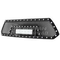 Wire Mesh Grill With LED Light for 2012-2015
