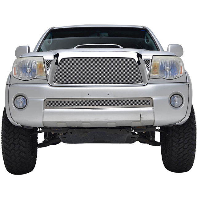 05-11 Toyota Tacoma Stainless Steel Wire Mesh Packaged Grille Chrome for Toyota Tacoma