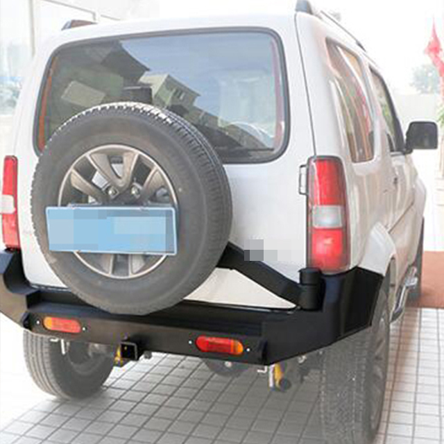 Rear Bumper with spare tire carrier for Suzuki Jimny
