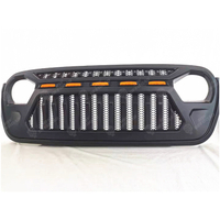 Grill for Jeep Wrangler JL 2018 with Leds