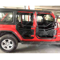 Half Door for 4 Door with Side Mirror for Jeep Wrangler JL 2018