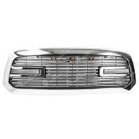 Chrome Grill for Dodge Ram 13-18 with Led