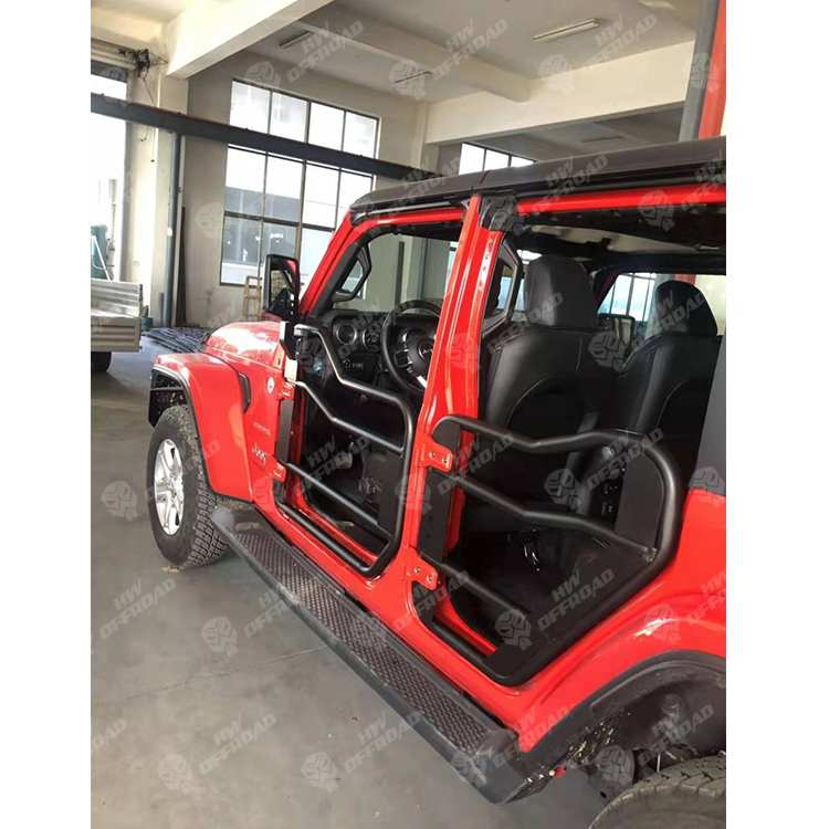 JL Half Door for 4 Door with Side Mirror for Jeep Wrangler JL 2018