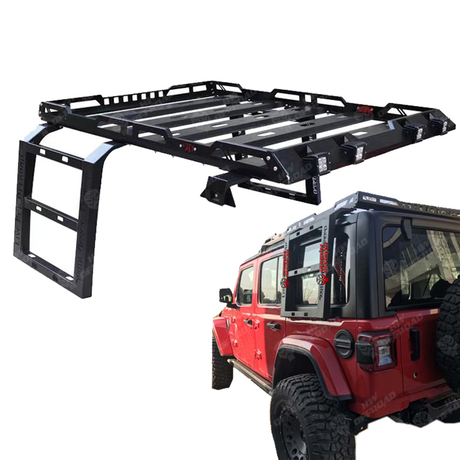 Roof Rack for Jeep Wrangler JL 2018 with LEDS
