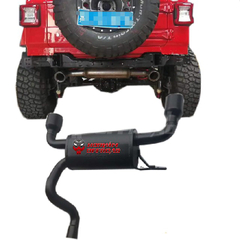 MG Flow Exhaust Jeep Wrangler JL