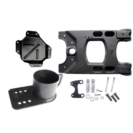 Jeep Jk Wrangler HD Hinged Carrier
