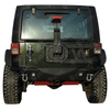 07-17 Jeep Wrangler JK Tubular Tire Carrier